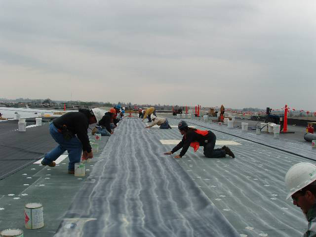 Single Ply EPDM Roofing System - Dryspace, Cedar Rapids, IA