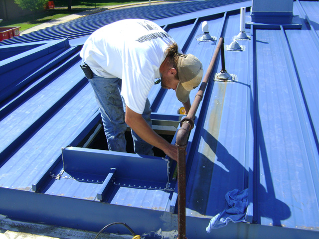 Standing Seam Metal Roofing System - Dryspace, Cedar Rapids, IA
