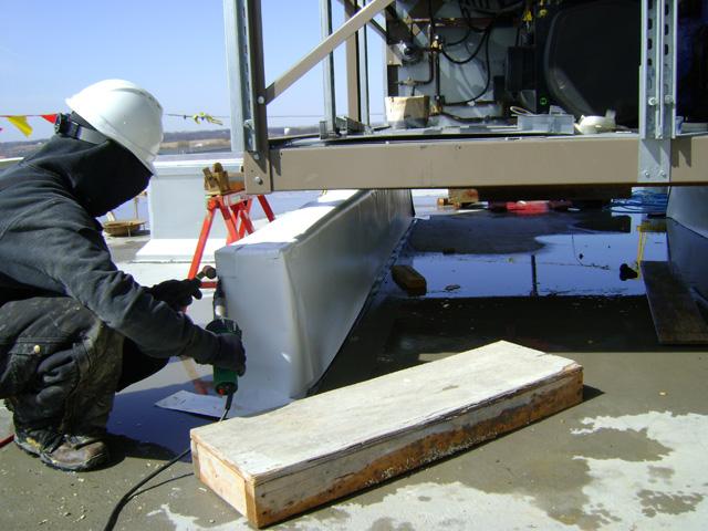 Single Ply PVC Roofing System - Dryspace, Cedar Rapids, IA