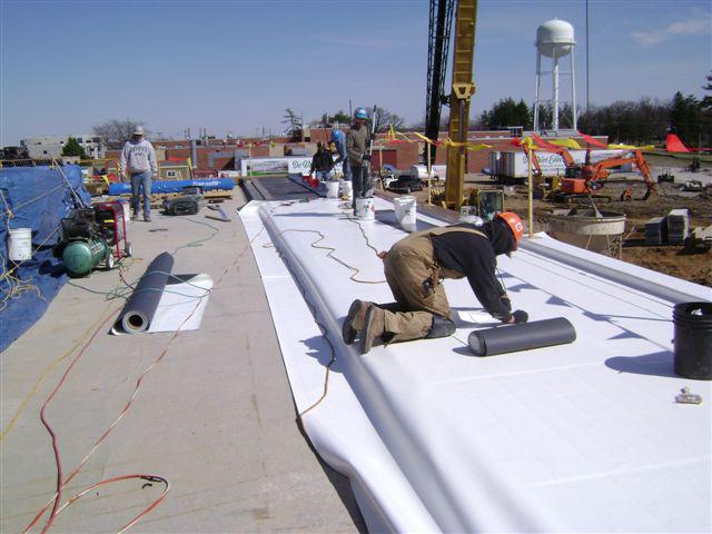 Single Ply TPO Roofing System - Dryspace, Cedar Rapids, IA